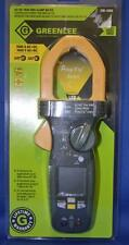 Greenlee CM-1560 AC DC True RMS Clamp Meter LED LIGHT CAT III IV Volt Amp New