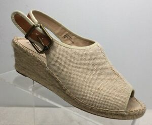 Ellen-Tracy-ET-KAMEO-Espadrilles-Wedge-Sandals-Shoes-Size-7-M