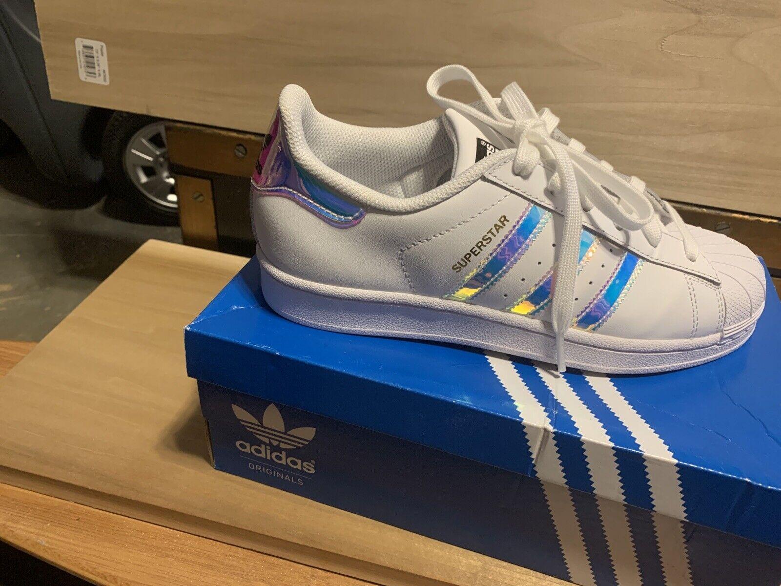 adidas superstar holographic gs