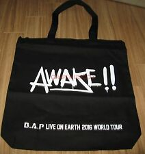 B.A.P BAP LIVE ON EARTH 2016 WORLD TOUR OFFICIAL GOODS ECOBAG ECO BAG NEW