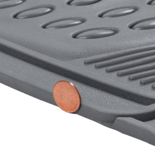 3 PC Rubber Car Floor Mats for Toyota RAV4 Floor Protector All Weather GRAY