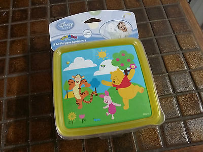 Able Disney Winnie The Pooh And Friends Children Kids Sandwich Food Containers
