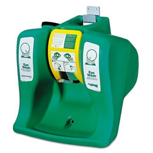 Green 0.25 Hour 16 Gal Guardian Equipment G1540 Portable Eyewash Station