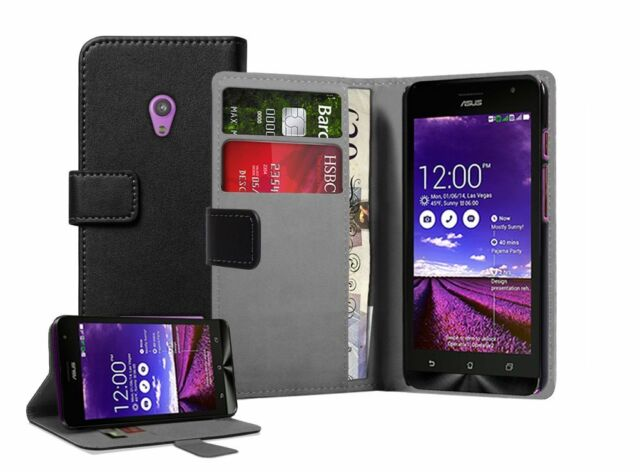 WALLET Leather Flip Case Cover Pouch For Mobile Phone Asus Zenfone 5 A501CG