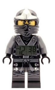 LEGO-Ninjago-Cole-Minifigure-with-Sword-Alarm-Clock-Lego-MiniFigure-9001154