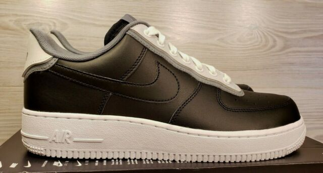 Nike Air Force 1 07 LV8 1 AF1 Black Pure Platinum White AO2439 002 Pick Size