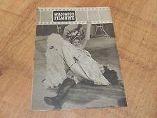 Wiadomości Filmowe 1/1958 polish magazine Francoise Arnoul, Jean Gabin, Picasso