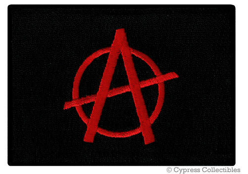 ANARCHY FLAG 5/' x 3/' BLACK and WHITE Anarchists Gothic Punk Music Festival Art