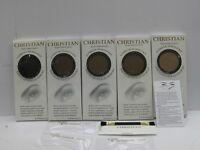 Christian Semi Permanent Eyebrow Makeup Kit Eye Brow Shadow Dark Brown