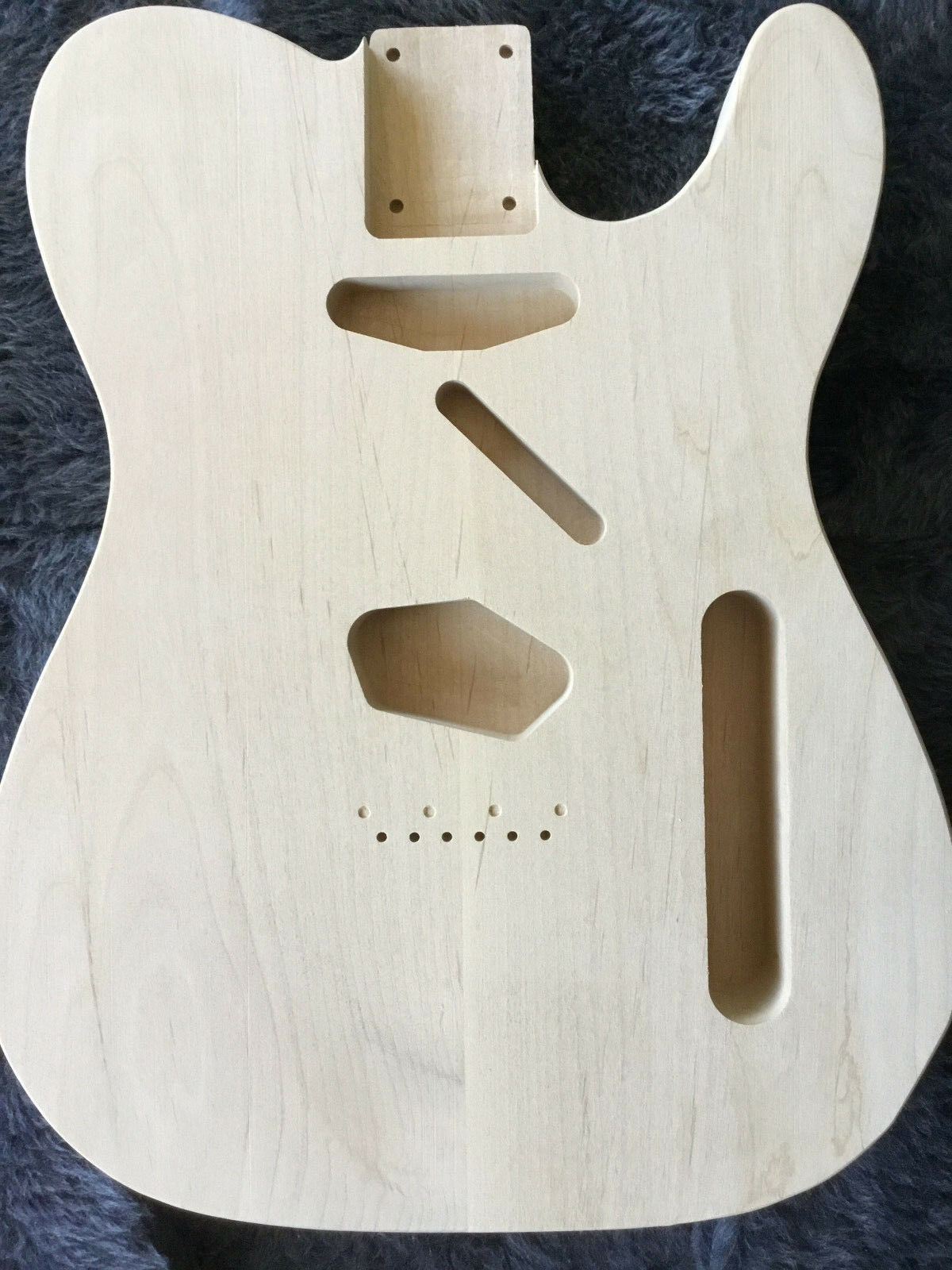 Telecaster Guitar Body USA made Prem Alder HB P90 FREE CURLY MAPLE NECK BLANK