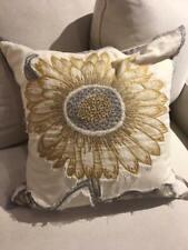 Pottery Barn Sunflower Pillow | Pottery