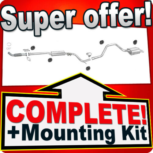 Pipe Silencer Exhaust System P14 Ford Mondeo II 1.8 TD Estate