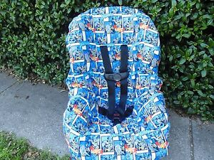 Batman toddler car seat cover-new-handmade- car seat not included