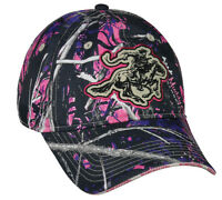 Ladies/womens Winchester Muddy Girl Moonshine Camo Hunting Hat/cap Win42a Fast