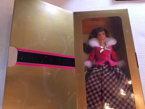 1996 Special Edition Avon Winter Rhapsody Holiday Barbie Doll # 16873 New