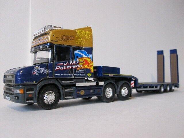 Corgi moderno camiones CC12840 Paterson Scania T nootboom Remolque (nuevo)