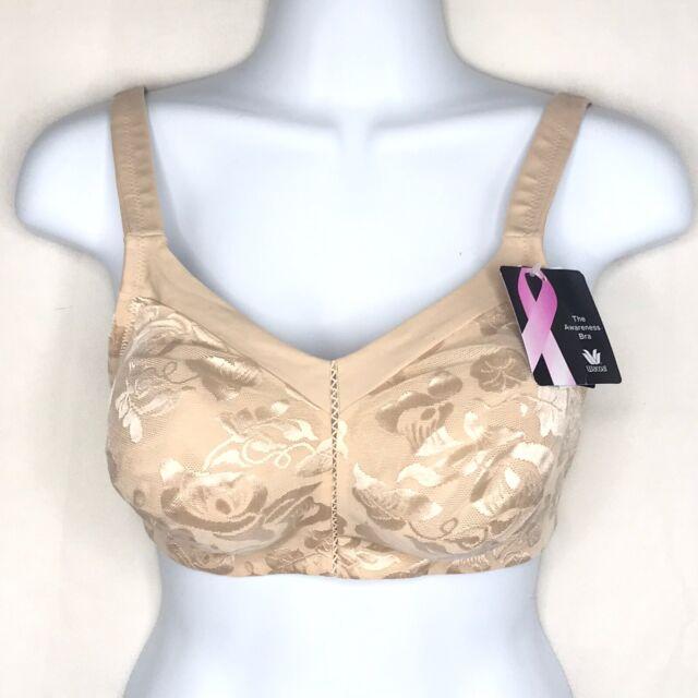 Wacoal 85276 Awareness Soft Cup Bra 38 DD Natural Nude