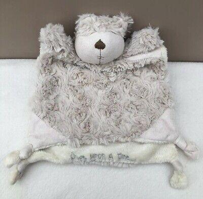 Free Crochet Pattern for a Teddy Bear Comforter | Crochet lovey ... | 393x400