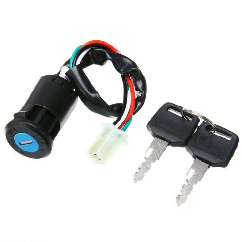 Motorcycle Ignition Switch Lock Key for Yamaha Suzuki Honda KTM Dirt Bike ATV KR