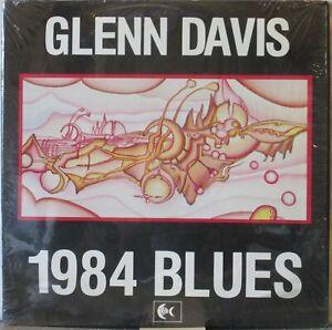 GLENN DAVIS 1984 Blues LP N.Y. Rock – Private Press, in Shrink
