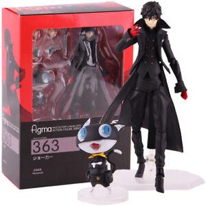 49e8152c59 Figma 363 Persona 5 Shujinkou and Morgana Joker PVC Figure Figurine
