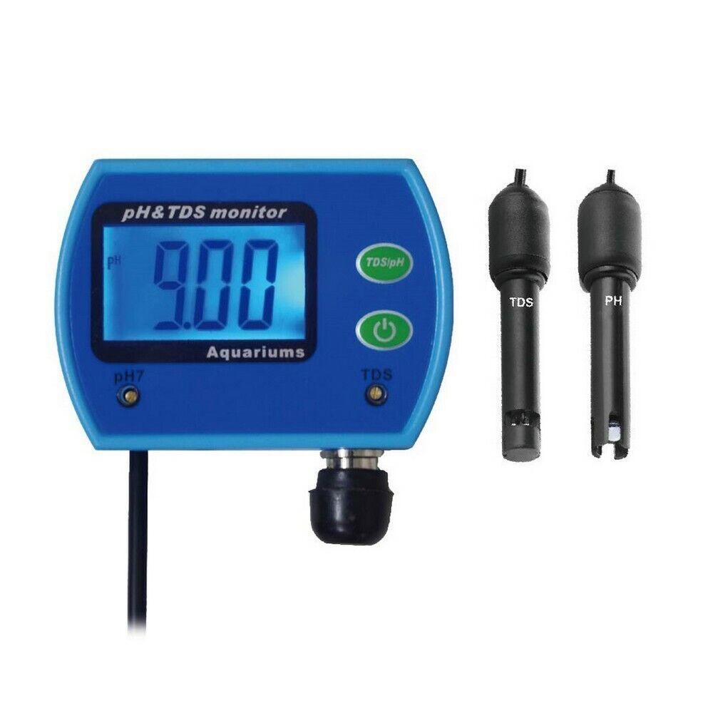 Medidor   Monitor digital de pH y conductividad TDS (PH-9851)