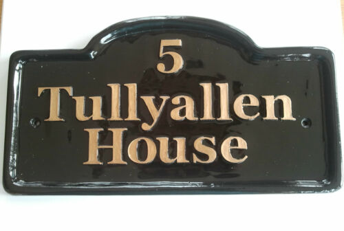 funny signs house name House Number Wall Plaque