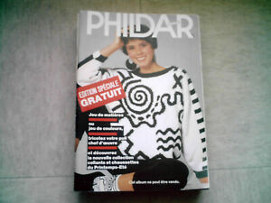 Magazine-tricot-Phildar-mailles-pulls-femme-Edition-speciale
