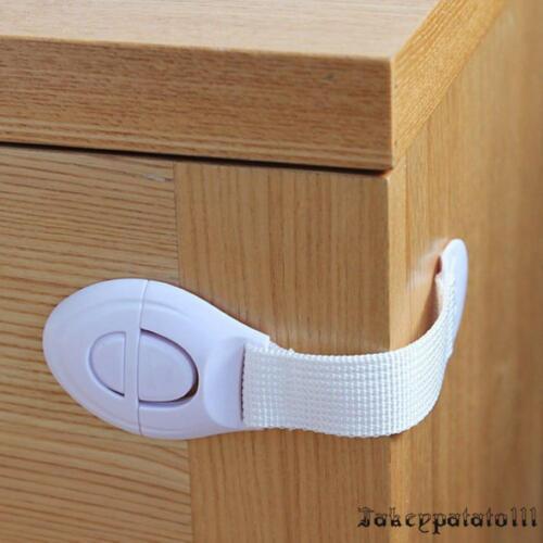 20x Baby Schrankschloss Schubladen Sicherheit Kinder Schutz Schubladensicherung