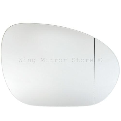 Droit Côté Conducteur Angle Large Wing Door Mirror Glass for NISSAN CUBE 2010-2015