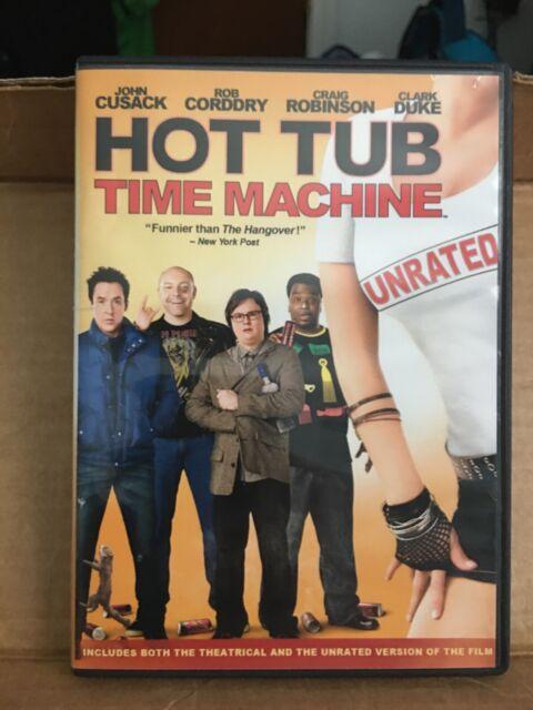 Hot Tub Time Machine DVD Steve Pink(DIR) 2010 | eBay