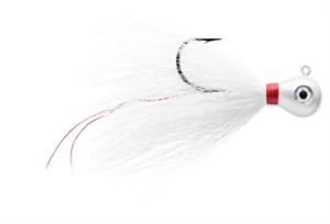 VMC BKJ Bucktail Jig 1//4 White