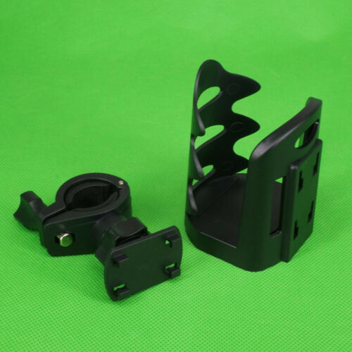 Fit For Motorcycle Bicycle Adjustable Cup Holder Handlebar Mount Quick Release