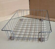 Vintage Metal Wire Office Desk Top File Paper Basket Storage Bin 1275 X 875