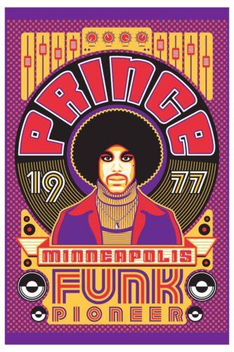 """Prince Minneapolis /""""Funk Pioneer /"""" Poster"""