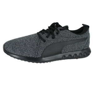 b9aa3f9e9dcc PUMA CARSON 2 KNIT NM BLACK BLACK 191084 01 MENS US SIZES