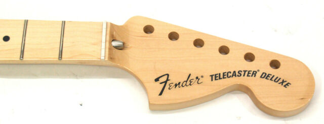 Fender Classic Series 72 Deluxe Telecaster Neck w// Maple 3-Bolt 099-7702-921