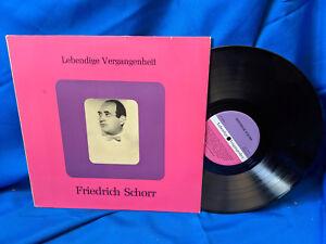 Lebendige-Vergangenheit-LP-Fridrich-Schorr-LV-23II-Austria-Pressing-NM-VG