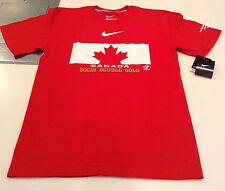 Team Canada 2014 Sochi Winter Olympics Double Gold Medalist Hockey M T Shirt