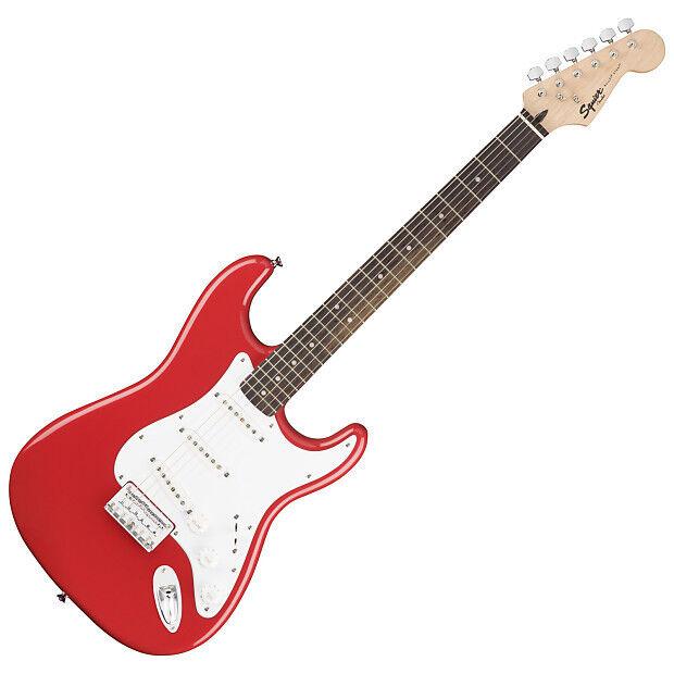 Squier Bullet Stratocaster Hard Tail RW, Fiesta rot - E-Gitarre