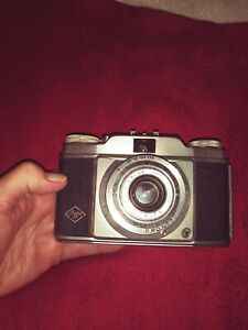 Agfa-Silette-Pronto-35MM-Camera-with-Leather-Case