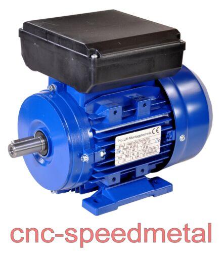 01321 B3-Ausführung 750W Elektromotor 230V 2800U//min Paßfeder 6mm IP55