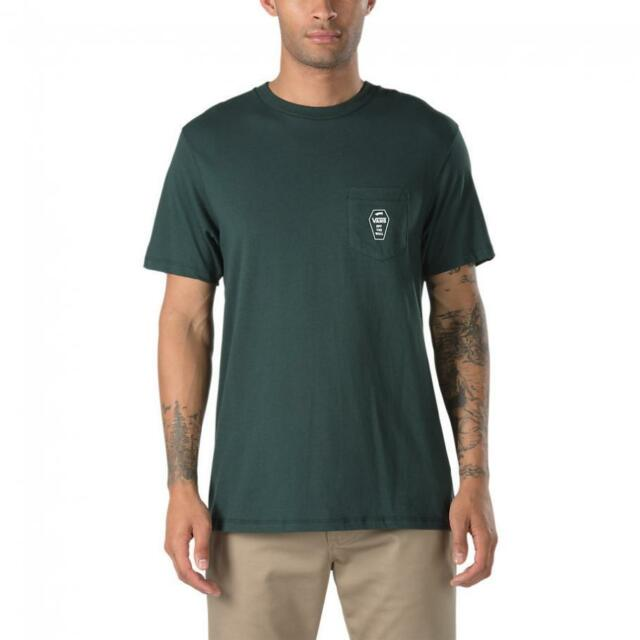 a74ee64488 VANS OTW (coffin Lockup) Pocket Tee T Shirt Scarab Green Sz Men XXL ...
