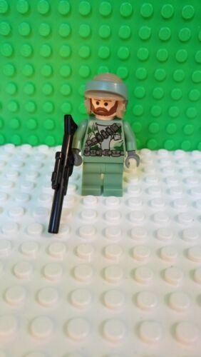 Lego Star Wars Figur sw240 Rebell Commando Endor 8038