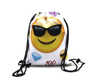 Turnbeutel Tasche Beutel Rucksack Damenrucksack Smileys Dollar