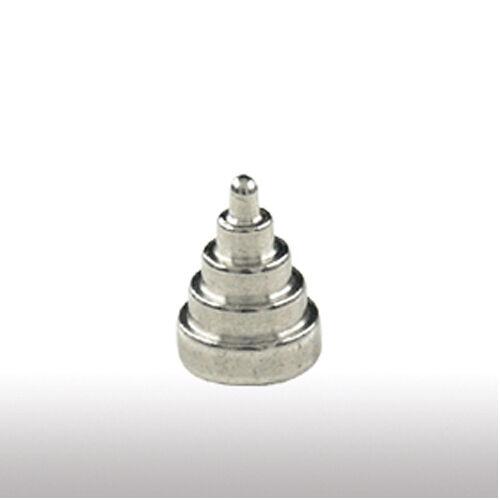 Accesorio piercing pirámide con 5//7 escalones cone Spike punta oreja labio piercing