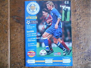 Leicester-City-vs-Chelsea-programme-21-11-1998-Domestic-club-competition