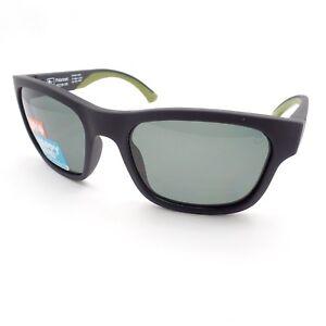 Spy Optics Hunt Matte Black Olive Happy Gray Green Polarized New ... 0022967df7
