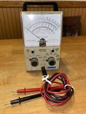 Vintage Heathkit Vtvm Im 11 With Probe Vacuum Tube Meter Powers On Works