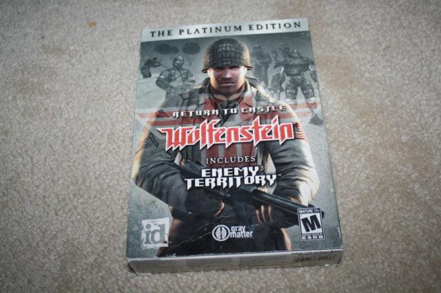 Return to Castle Wolfenstein Platinum Edition Enemy Territory PC Complete - Y718